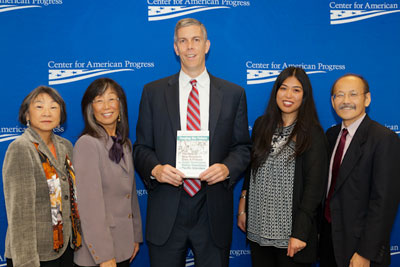 Nexus team with Arne Duncan