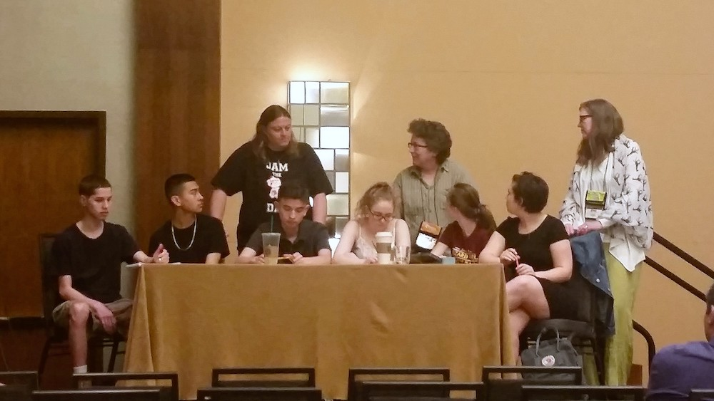 Theater of the oppressed presentation at AERA